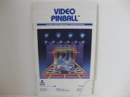 Video Pinball - Atari 2600 Manual